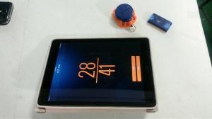 ipad, wrist and net sensor